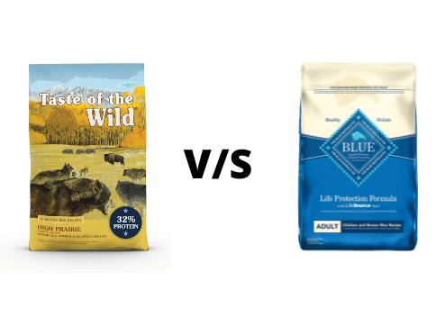 Buffalo V/S Taste of the Wild Dog Food